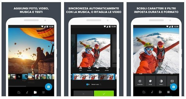 Quik App per modificare video