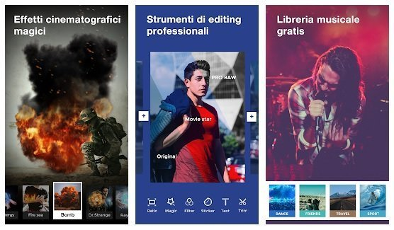 Wonder Video App per modificare video