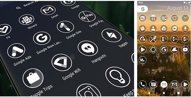 Cambiare le icone su Android con Monoic Icon Pack