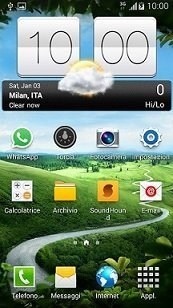Sense V2 Flip Clock & Weather - Orologio meteo android