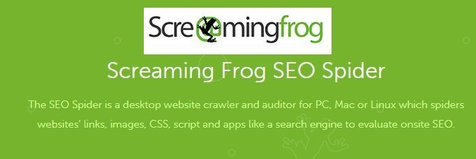 Trovare i link rotti - Screaming frog