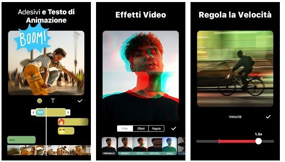 Migliori App per Modificare Video - InShot