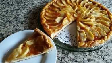 Photo of Crostata di Mele con il Piatto Crisp