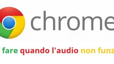 Photo of Audio Chrome non Funziona