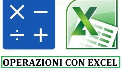 Photo of Operazioni con Excel