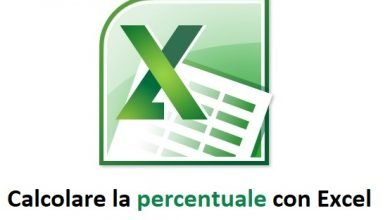 Photo of Calcolare la Percentuale con Excel