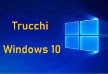 Trucchi Windows 10
