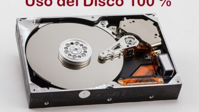 Uso del disco al 100 % su Windows 10